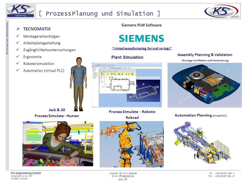 [ ProzessPlanung und Simulation ]